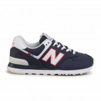 SCARPE NEW BALANCE 574 BLU P/E 2020 ML574SOP