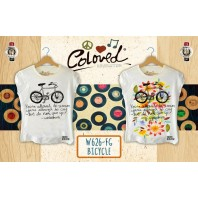 T-SHIRT COLORED REVOLUTION BICYCLE CHE CAMBIA COLORE AL SOLE A/I 2016