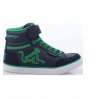 SCARPE DRUNKNMUNKY BOSTON CLASSIC BLU-VERDI INFANT A/I 2016 BOSTON CLASSIC 150